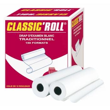 draps d'examens classiques professionnel CLASSIC'ROLL - 150 formats - 50 x 35 cm - 12 rouleaux par colis REF 519