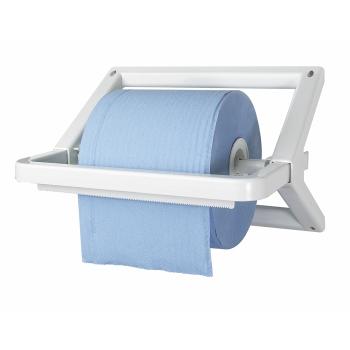 Distributeur bobine mural professionnel plastique ABS - lame de coupe - 1000-1500 formats REF 10510