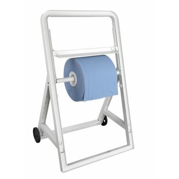 Distributeur bobine professionnel sur pied à roulettes - Lame de coupe REF 10511