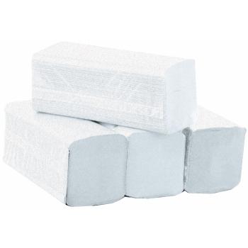 Essuie-mains professionnel enchevêtrés - gaufré collé - 150 Essuies mains - 24 x 24 cm - 20 cartouches / colis - Ref. 709G