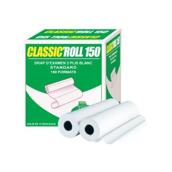 Draps d'examens classiques professionnel - 150 formats - 50 x 30 cm - 12 rouleaux par colis REF 518/30