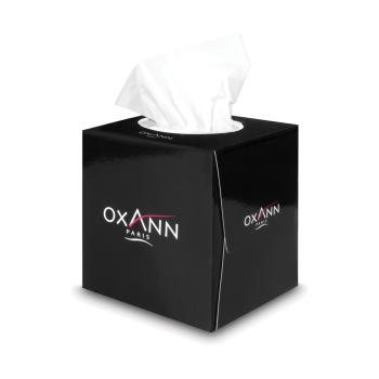 Mouchoirs professionnels cosmétiques Oxann - 60 mouchoirs - 3 plis - 24 boîtes par colis- REF 10525