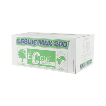 bobines d'essuyage professionnel - mini ouate - 200 formats - 19 x 30 cm - 12 rouleaux par colis REF 705/30EC