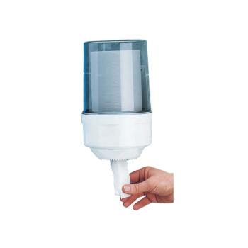 Distributeur bobines professionnel dévidage central - Maxi-ouate - 800-1000 formats - diamètre 26 x H 22 cm REF 10514