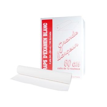 draps d'examens classiques professionnel - 150 formats - 60 x 38 cm - 12 rouleaux par colis REF 504
