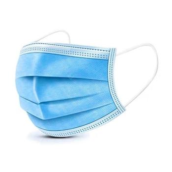 Masques 3 Plis Chirurgicaux bleus - Boîte de 50 - Vendu par colis de 40