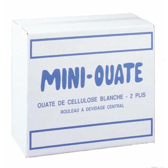 Bobines professionnel dévidage central - mini-ouate - 150 formats - 19 x 35 cm - 16 rouleaux par colis REF 702