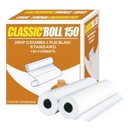 draps d'examens classiques professionnel - 150 formats - 50 x 38 cm - 12 rouleaux par colis REF 518