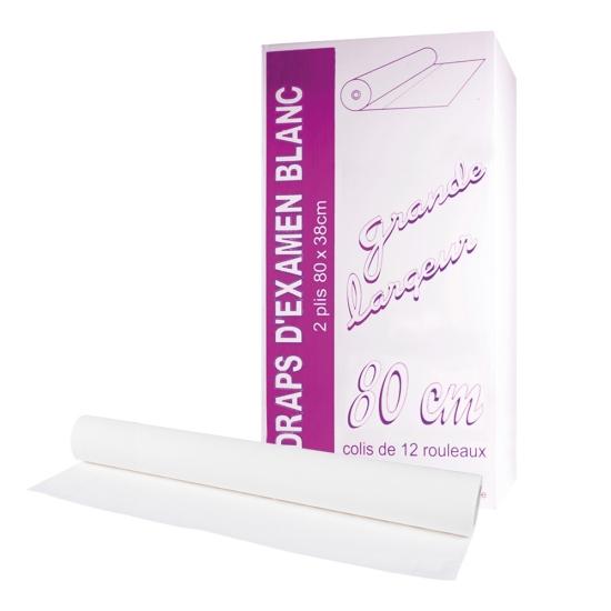 draps d'examens classiques professionnel - 100 formats - 80 x 38 cm - 12 rouleaux par colis REF 580